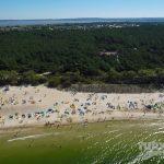Rowy plaża
